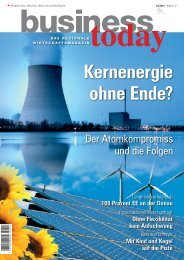 Kernenergie ohne Ende? - business today