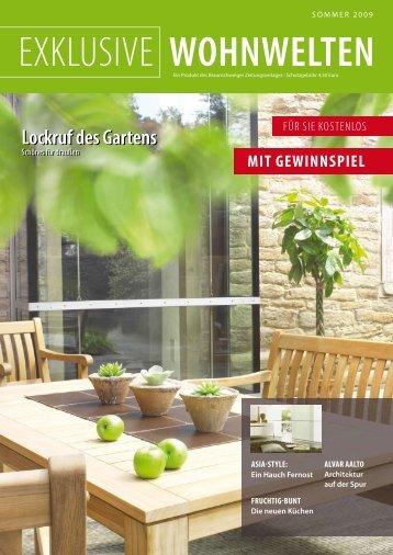 sommer 2009 exklusive wohnwelten - Braunschweiger Zeitungsverlag