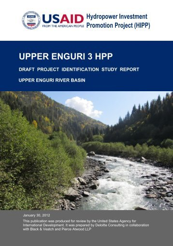 enguri 3 hpp project identification study - Hydropower Investment ...