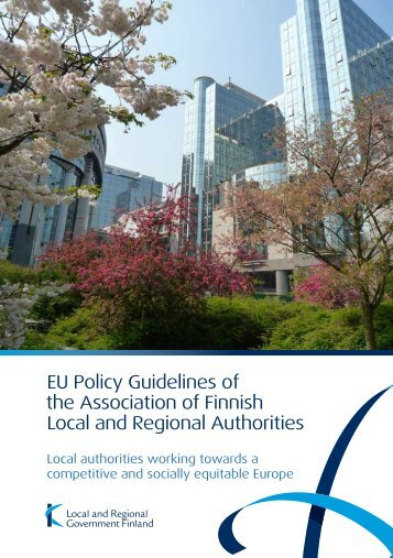 EU Policy Guidelines of the Association of Finnish Local and ...