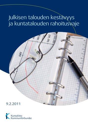 Julkisen talouden kestävyys ja kuntatalouden ... - Kunnat.net