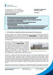 Brysselin toimiston tiedote 9/2013 - Kunnat.net