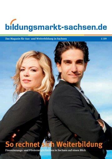 So rechnet sich Weiterbildung - Bildungsmarkt-Sachsen.de