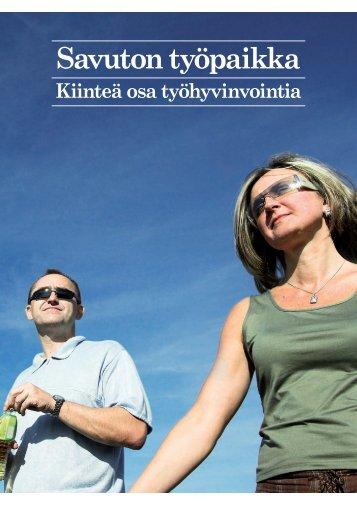 Savuton työpaikka - Savuton Suomi