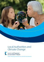Local Authorities and Climate Change