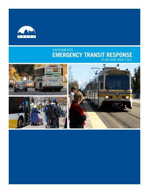 Sacramento Emergency Transit Response Plan and Web ... - Caltrans
