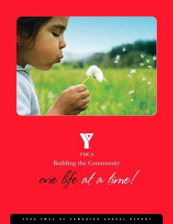 73933 Annual Report Docv7 - YMCA of Edmonton, AB