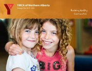 Building Healthy Communities - YMCA of Edmonton, AB
