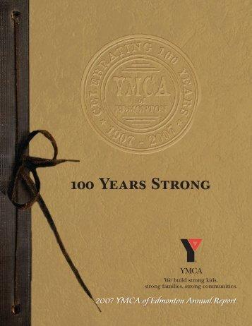 100 Years Strong - YMCA of Edmonton, AB - YMCA Canada