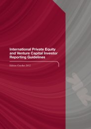 International Private Equity and Venture Capital Investor Reporting ...