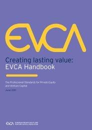 Creating lasting value: EVCA Handbook