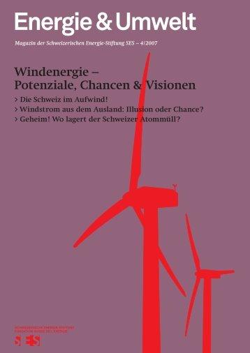 Windenergie - Schweizerische Energie-Stiftung