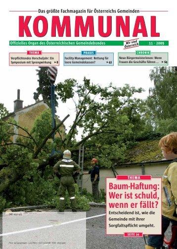 Baum-Haftung - Österreichischer Gemeindebund