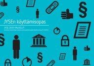 JYSEn käyttämisopas - JYSE 2009 PALVELUT - Kunnat.net