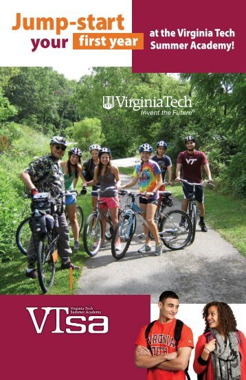 VTSA Booklet - Virginia Tech Summer Academy