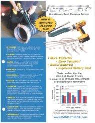 B101 Ultra Lok® Tool Hose Flyer - Band-It
