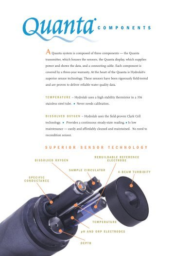 Specification Sheet - Field Environmental Instruments