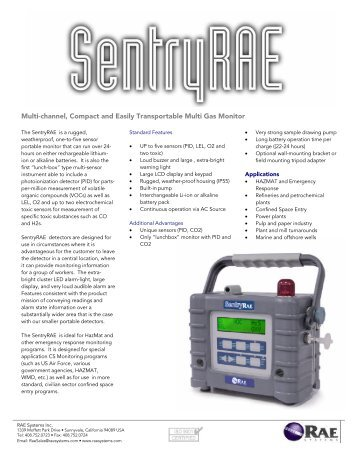 Product Brochure - Field Environmental Instruments