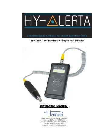 Product Manual - Field Environmental Instruments