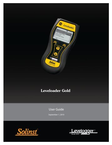 User Guide - Field Environmental Instruments