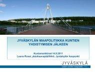 Jyväskylän kaupungin kalvopohja (suomi) perusversio - Kunnat.net