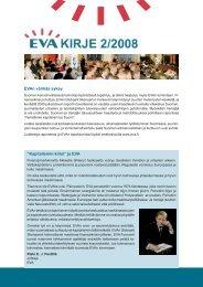 "EVAn värikäs syksy ""Kapitalismin kriisi"" ja EVA"
