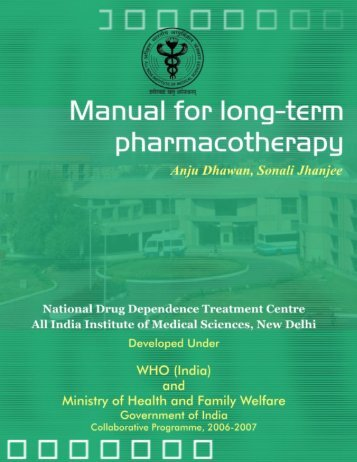 Manual for long-term pharmacotherapy - All India Institute of Medical ...