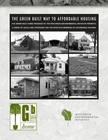the green built way to affordable housing - Green Built Home