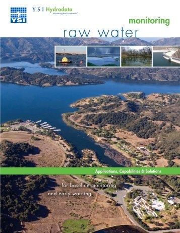 raw water - Xylem Analytics