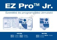 EZ PRO JR használati útmutató - Aquarex