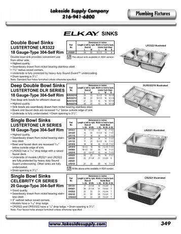 Elkay - Lakeside Supply Company