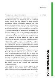 9. Juni 2011 Allwetterkameras - Abtauchen mit der Kamera pv 10 ...