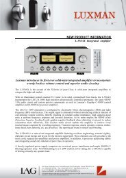 Announcement L-550AX - XFAudio