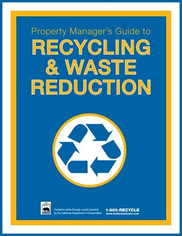 Recycling & Waste Reduction - Ecology Action