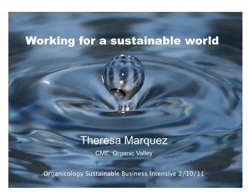 MarketingOVOrganicol.. - Sustainable Food Trade Association