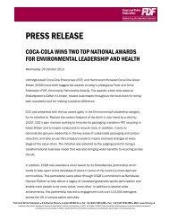 24Oct2012 Press release - Coca-Cola Enterprises