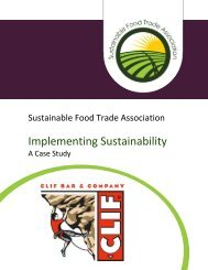 Clif Bar's Holistic Approach to Climate Action - Sustainable Food ...