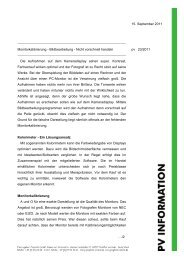 15. September 2011 Monitorkalibrierung - Bildbearbeitung - Nicht ...