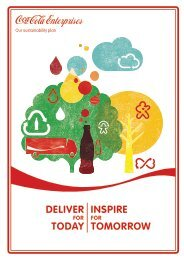 Our sustainability plan - PDF - Coca-Cola Enterprises