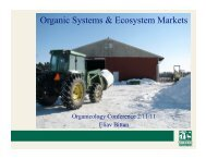 Organic Systems & Ecosystem Markets - Sustainable Food Trade ...