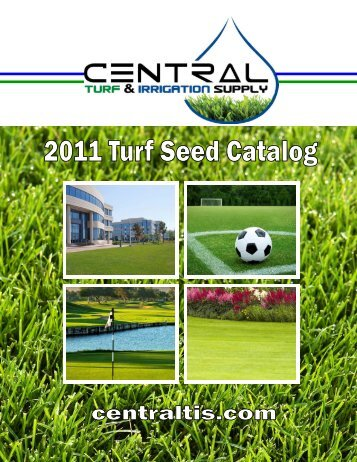 TURF SEED CATALOG PG 1 - Central Turf & Irrigation Supply