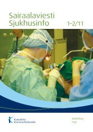 Sairaalaviesti 1-2/2011 - Kunnat.net
