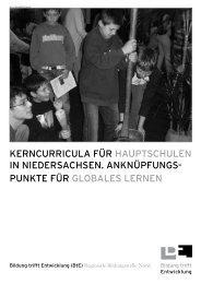 Kerncurricula für HauptscHulen - Verein Niedersächsischer ...