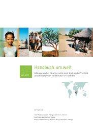 Handbuch um.welt - Projekt Um.Welt