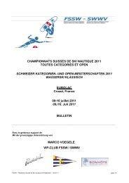 championnats suisses de ski nautique 2011 toutes categories et ...