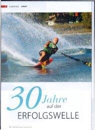 ERFOLGSWELLE - Z-Wake Wasserskiclub Zuerichsee