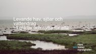 på väg mot statusbedömning och miljökvalitetsnormer, Bertil ...