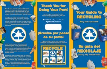 RecYclinG Reciclaje RecYcle