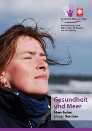 Broschüre Fachklinik Maria am Meer - Caritas Gesundheitszentrum ...