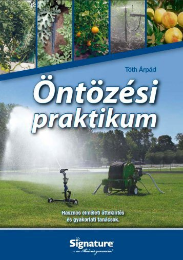 Tóth Árpád : Öntözési praktikum - Aquarex